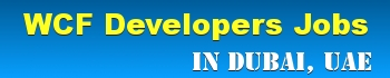 WCF Developer Jobs
