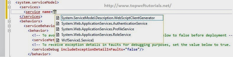 WCF 4.5 - Intellisense Support for Service Name