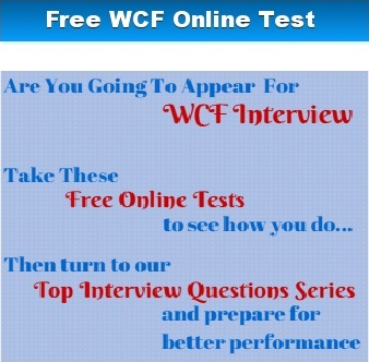 Web writing services vs wcf interview questions