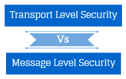 Message Level Security Vs Transport Level Security
