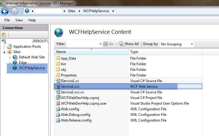WCF Web Service
